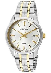 Seiko Men's SGEG07 Quartz White Dial Watch