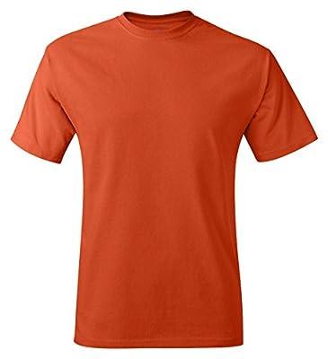 Hanes Adult Tagless® T-Shirt - Safety Orange (60/40) - 2XL