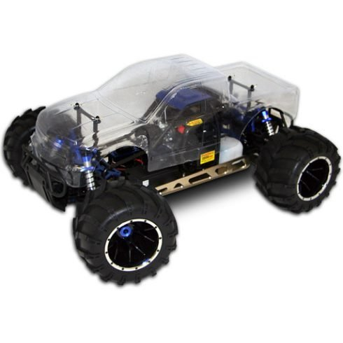 Redcat RC: Rampage MT V3 Truck 1/5 Scale Gas w/ Clear Body