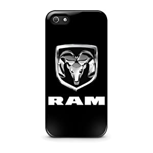 Coque iPhone 5/5s Dodge RAM Pickup Truck Chrome Logo iPhone 5 5s