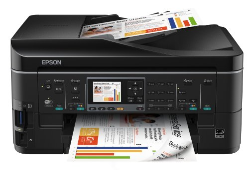 Epson Stylus BX635FWD All-in-One Printer (Print, Scan, Copy) with Wi-Fi, Network, Duplex, LCD Screen and Fax
