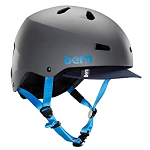 Bern Macon Thin Shell EPS Helmet with Visor - 2014 by Bern