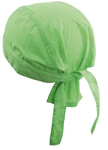 Bandana Hat, Lime Green 1 Stück,Lime Green