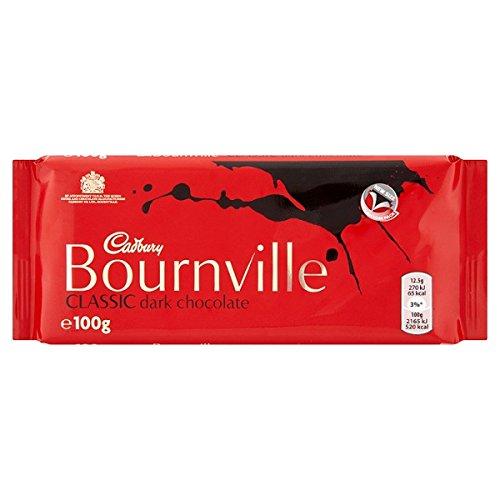 Cadbury-Bournville-classique-Dark-Chocolate-Bar-100g-Pack-de-18-x-100g