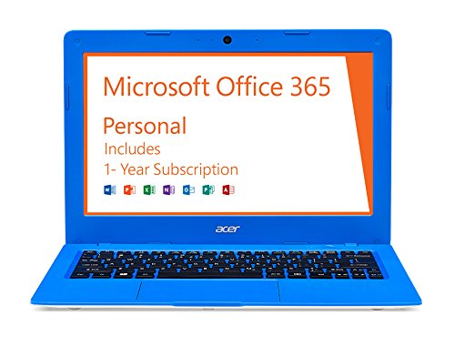 Acer-Aspire-One-Cloudbook-11-Inch-HD-32GB-Windows-10-Electric-Blue-AO1-131-C620-includes-Office-365-Personal-1-year
