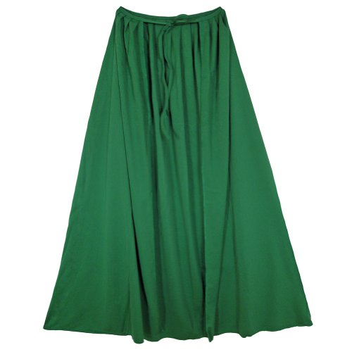 "SeasonsTrading 28"" Child Green Cape ~ Halloween Costume Accessory"