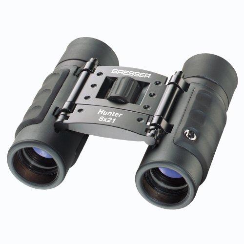 Bresser Hunter 1110821 8 x 21 Binocular (Black)