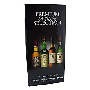 The Premium Whisky Selection Miniature Gift Set