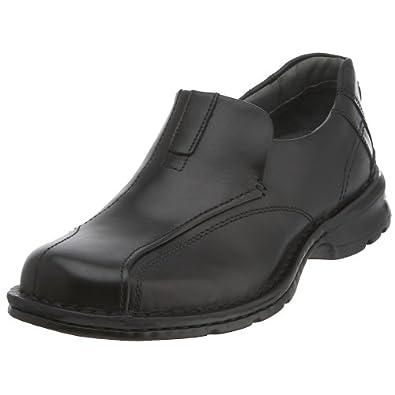 (38折)Clarks其乐男士缓震内外全皮休闲鞋 码较全Escalade Slip-On 棕$56.95