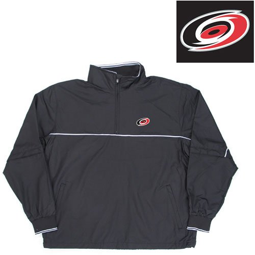 "Buy Carolina Hurricanes NHL ""Omni"" Pullover Windshirt (Black)"