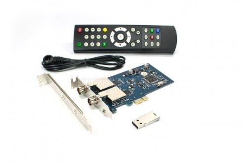 NEW! DVBSky T982 PCIe DVB-T2 Dual TV Tuner Card High Definition Digital Free to Air Tuner (DVB-T2/DVB-T/DVB-C) Receiver
