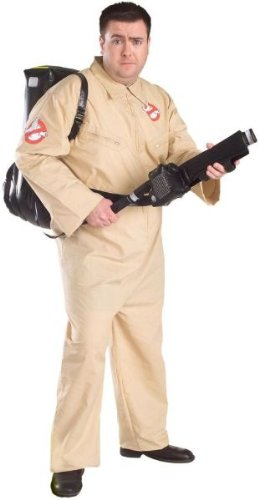 Ghostbusters Mens Plus Size Costume