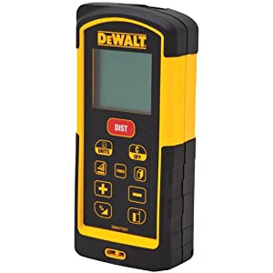 DEWALT DW03101 330-Feet Laser Distance Measurer (Tamaño: 330-Foot Range)