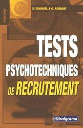 Tests psychotechniques de recrutement