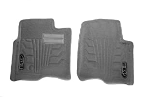 Lund 583002-G Catch-It Carpet Grey Front Seat Floor Mat - Set of 2