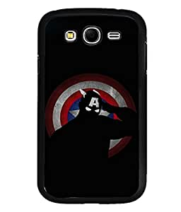printtech Superhero Avengers Shield Back Case Cover for Samsung Galaxy Grand Neo::Samsung Galaxy Grand Neo i9060