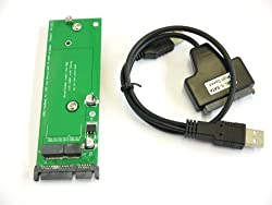 SSD to SATA Converter for Macbook Air A1465 A1466 2012 SSD + SATA to USB Adapter