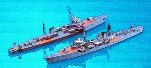 Skywave 1/700 WWII IJN Escort Ship Type Ukuru A 2 Model Kit