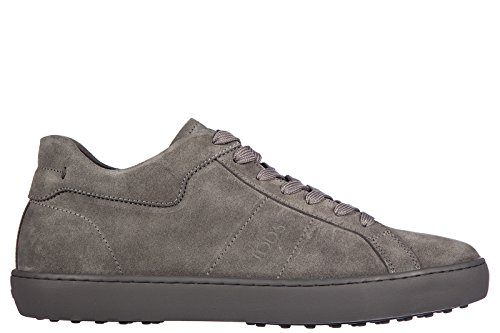 tods-scarpe-sneakers-uomo-camoscio-nuove-allacciato-fondo-cassetta-grigio-eu-40-xxm0un0k830re0b401