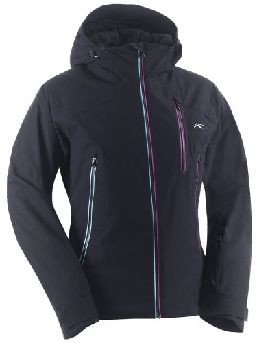 Kjus Ladies Desire Jacket Skijacke black/fuchsia/red (38)