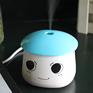 agptek usb portable air mist humidifier for
