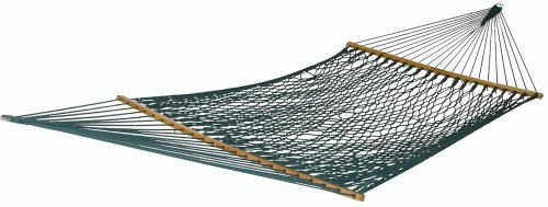 Pawleys Island Large DuraCord Rope Hammock, Green