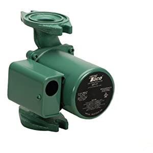 taco 007 f7 1 30 hp cast iron cartridge circulating power water pumps