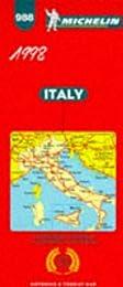 Italie. Carte numéro 988, échelle 1/1000000
