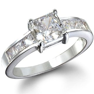 Emmy's Princess Cut Cubic Zirconia Promise Ring - 9