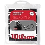 Wilson Sporting Goods Pro Sensation Tennis Racket Grip Pack Of 12 White By Wilson Sporting Goods