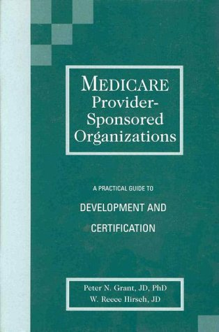 Medicare Provider-Sponsored Organizations 1556482434