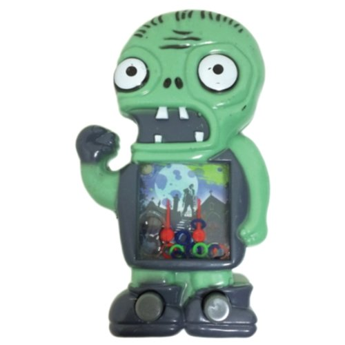 One Assorted Zombie Design Push Button Handheld Water Games