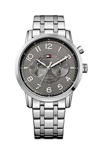 Tommy Hilfiger Men'S 1791086 Silver Stainless-Steel Quartz Watch