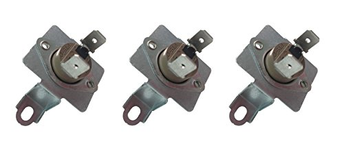 3 x SAMSUNG DC96-00887A Replacement Dryer Thermostat W/ Bracket 2074129 (Samsung Dryer Dv218aew compare prices)