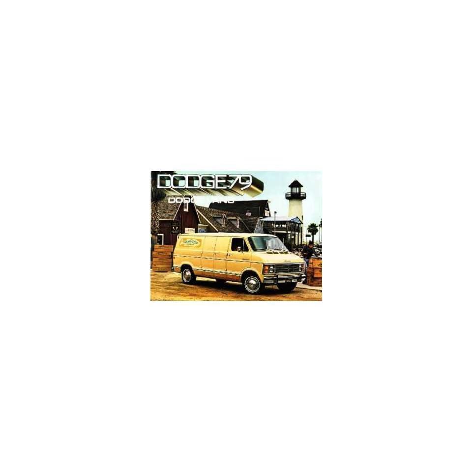 1979 Dodge Van Sales Brochure Literature Book Piece Dealer Advertisement