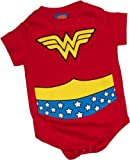 Wonder Woman Costume Infant Onesie Snapsuit