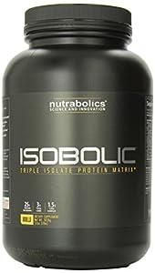 Nutrabolics IsoBolic Advanced Protein Matrix, Vanilla, 32  Ounces