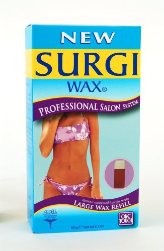 Surgi-wax Professional Salon System Large Wax Refill, 2.1 oz,  (Pack of 2)