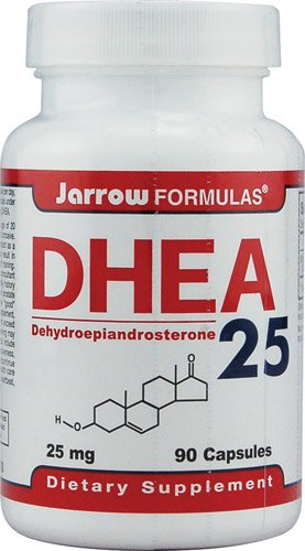 DHEA 25mg Jarrow Formulas 90 Caps