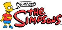 ★液晶保護フィルム付き★ The Simpsons iPhone5/5s ケース Type B クリアケース キャラクター アップルマーク リンゴ シンプソンズ スマホケース アイフォン5 アイフォン5s アイフォンケース