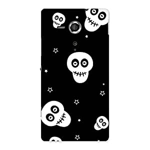 Skull Star Back Case Cover for Sony Xperia SP