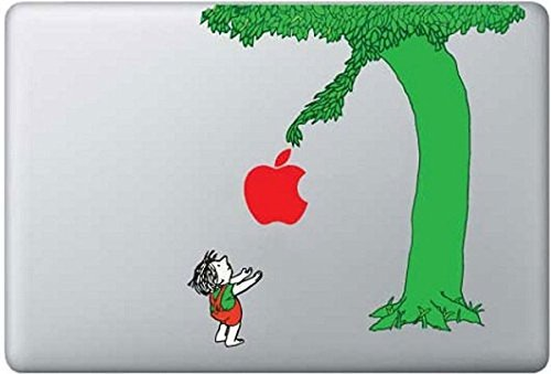 The Giving Apple Tree MacBook sticker decal vinyl by Mac Tatt! Customize your Macbook Laptop! (Mac Apple Decal compare prices)