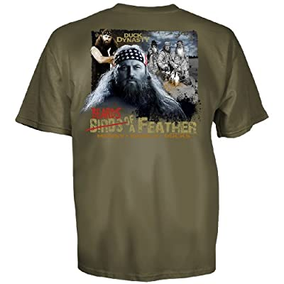 Club Red Duck Dynasty Willie Robertson Beards of a Feather T-Shirt