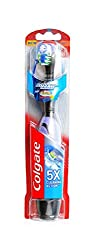 Colgate 360 Floss Tip Battery Power Toothbrush (Multicolor)
