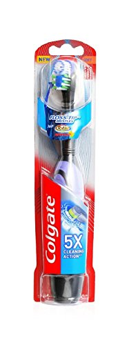 Colgate 360 Total Advanced Floss-Tip Battery Toothbrush, Soft