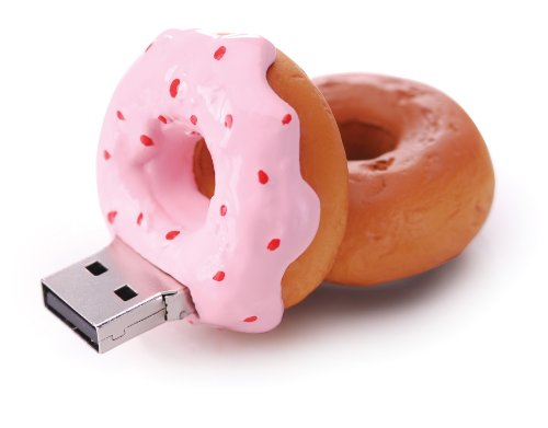 4GB Strawberry Donut USB Drive - Great Gift!