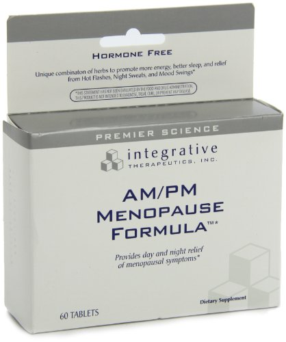 Integrative Therapeutics Am/Pm Menopause Formula, 60 Tablets
