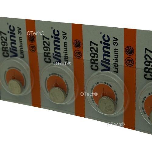 Pack de 5 Vinnic CR927 3V Lithium