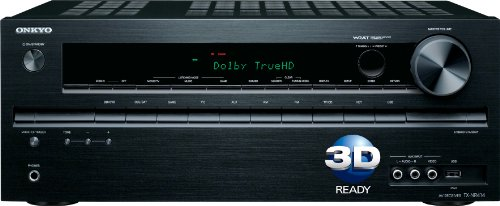 Onkyo TX-NR414 5.1-Channel Network A/V Receiver(Black)