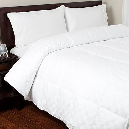 400TC Egyptian Cotton Down Alternative Comforter, Full/Queen